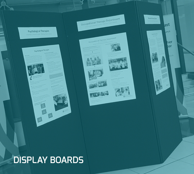 DISPLAY BOARDS b