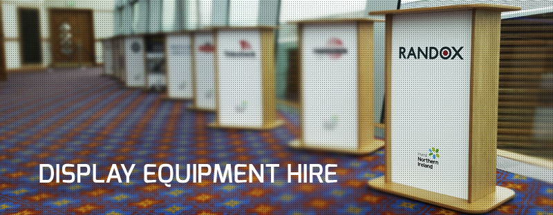 DISPLAY EQUIPMENT hire